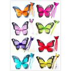 "2 PC's Butterfly Wings Monarch  wand set 14""X18""  Fairy Angel Teens Costume"