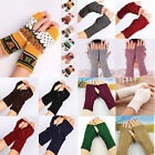 CH Fashion Unisex Women Ladies Fingerless Gloves Warm Gloves Acrylic Winter New