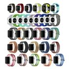 Nylon Silicone Bracelet Sport Band Strap for Apple Watch Series 1 2 38mm 42mm