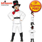 CK900 Child Kid Snowman Funny Santa Xmas Novelty Frozen Christmas Costume Outfit