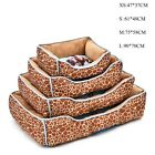 Dog Beds Kennel Pet Dog Cat Animals Printed Pad Bed Cushion Kennel 3 Styles