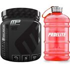 Musclepharm Amino1 Black 384g / 30 Servings Energy Recovery + Pro Elite Gallon