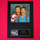 CHUCKLE BROTHERS No1 Autograph Mounted Signed Photo Reproduction Print A4 175