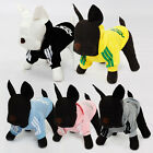 Pet Dog Clothes Warm Sweater Hoodie Coat Apparel Puppy Costume 7 Colors