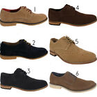 New Mens Casual Lace Up Faux Suede Desert Western Ankle Boots Trainers Shoes UK