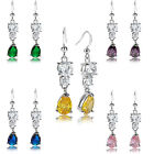 Women Jewelry Sale White Gold Plated Earrings Dangle Earings