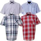 Mens Rock & Rock Short Sleeve Summer Casual Loose Fit Shirt In 4 Colours
