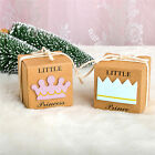 12x BABY SHOWER CHRISTENING LITTLE PRINCE OR PRINCESS FAVOUR BONBONNIERE BOXES