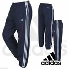 Adidas Record  Mens 3 Stripes Essential Running Gym Climacool Bottom Trousers