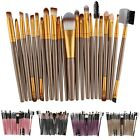 Pro 22pcs Makeup Brush Set Make-up Toiletry Kit Foudation Blush Eyeliner Brushes