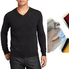 Comfy Unisex Pullover Cashmere sweater Indie Wool Mens office winter Warm Jumper