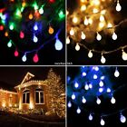 4M 40LED Battery Fairy String Light Outdoor Wedding Christmas Party Lamp N4U8