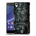 HEAD CASE DESIGNS CAVE PAINTINGS HARD BACK CASE FOR SONY PHONES 2