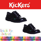 Kickers Kick Low Youth Girls Patent Back to School Shoes Uk Size 3 4 5 6