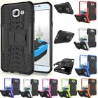 Hybrid Rugged Armor Shockproof Hard Case Stand Cover For Samsung Galaxy A8 2016