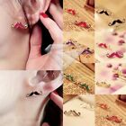 1PC Retro Funky Mini Cute Girls Moustache Mustache Stud Earrings Quirky Jewelry