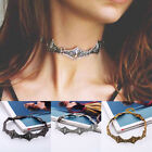 Fashion Women Girl Ethinic Style 3 Colors Collar Choker Statement Necklace Gift