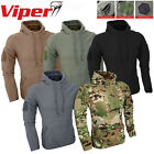 Viper Tactical Fleece Hoodie – V-Cam, Black, Coyote, Titanium, Green Small – 2XL