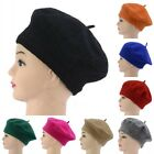 Lovely Boys Girls Kids Wool Blend French Artist Berets Tam Beanie Slouch Hat Cap