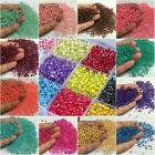 28 Colors 500/3000 PCS 4mm Glass Seed Spacer Round Beads Jewelry Making DIY