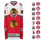 2016 17 Chicago Blackhawks REEBOK NHL Premier Player Jersey Collection Mens