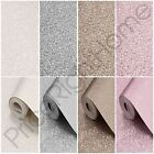 MURIVA TEXTURED METALLIC SHIMMER WALLPAPER PINK GOLD WHITE GREY SILVER NEW