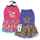 Dog Puppy Dress - Leopard & Butterfly - Max & Maggie - Choose Color & Size