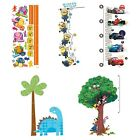 CHILDRENS GROWTH CHART WALL DECAL SET - Toddler Kids Character Accent Stickers