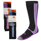2 Pair Nike Women's Knee-High Snow Sports Socks Cold Weather Gear Skiing Running