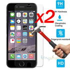 2x 9H Anti-Scratch Tempered Glass Screen Protector For Apple iPhone 7 6 5 4 3Gs