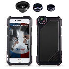 R-just Armor Aluminum Case Cover For iPhone 5 5S SE 6 6s 7 Plus with Camera Lens