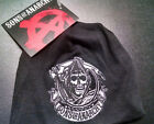 SONS OF ANARCHY CIRCLE REAPER PATCH BABY BEANIE SKULL CAP NEW !