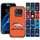 FOR SAMSUNG PHONE MODELS RUGGED IMPACT RESISTANT NFL FOOTBALL CASE COVER+FILM