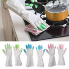 Rubber Latex Long Washing Gloves Kitchen Dish Home Household Housework Cleaning
