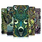 HEAD CASE DESIGNS AZTEC ANIMAL FACES SERIES 6 HARD BACK CASE FOR SONY XPERIA Z3