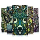 HEAD CASE DESIGNS AZTEC ANIMAL FACES SERIES 6 CASE FOR SONY XPERIA Z1 COMPACT