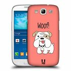 HEAD CASE DESIGNS HAPPY PUPPIES HARD BACK CASE FOR SAMSUNG GALAXY S3 III