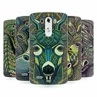 HEAD CASE DESIGNS AZTEC ANIMAL FACES SERIES 6 SOFT GEL CASE FOR LG G3