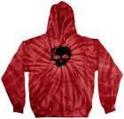 ZERO Skateboard PULLOVER HOODY SWEATSHIRT FALLEN BLOOD SKULL SPIDER RED