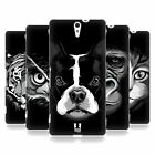 HEAD CASE DESIGNS BIG FACE ILLUSTRATED 2 HARD BACK CASE FOR SONY XPERIA C5 ULTRA