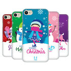 HEAD CASE DESIGNS CHRISTMAS TIDINGS HARD BACK CASE FOR APPLE iPHONE 7