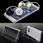 Wireless Bluetooth Headset Earphone Soft Clear Case for Samsung Galaxy S7 /edge