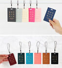 Wannabe Picto Travel Tag Name Carrier Luggage Bag ID Strap Card Pocket Cute Tag
