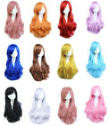 [PF] Adult Fashion Girl Color Long Wavy Curly Hair Cosplay Wig Party