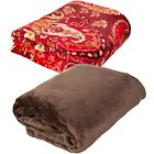 Better Homes and Gardens Ultra Soft Microfiber Fleece Decorative Throw Blanket