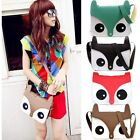 Fashion Women Lady Fox Messenger PU Leather Material Hobo Shoulder Bag Tote