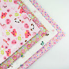 160x50cm Pink Cartoon cotton fabric patchwork quilt sewing DIY Cloth 3 Colors