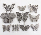 Lot 2-10Pcs Znic Alloy Big Mix Butterfly Charms Pendants For DIY Making 27/68mm