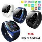 Waterproof M26 Bluetooth Smart Wrist Watch Phone Mate for Android iOS Smartphone