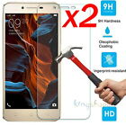 2x 9H+ Anti-Scratch Tempered Glass Screen Protector Guard For Lenovo Smart Phone